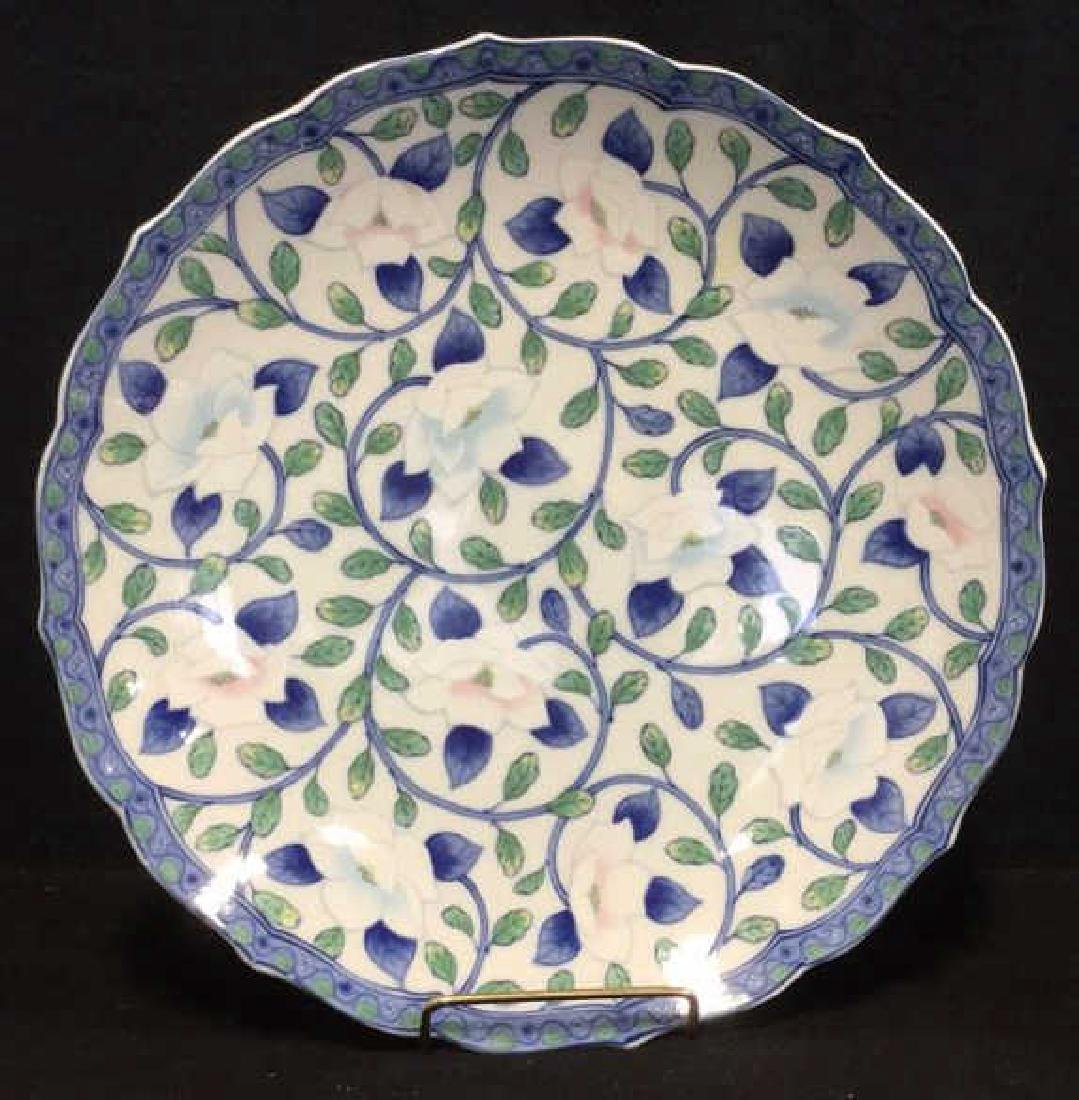 Lot 2 Andrea by Sadek Vase And Platter - 2