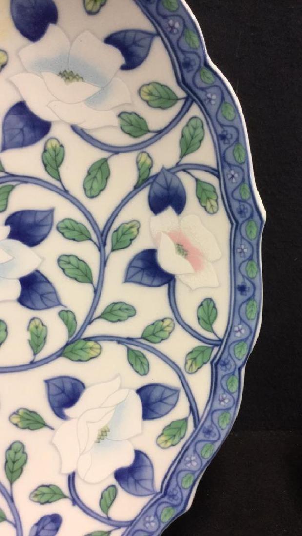 Lot 2 Andrea by Sadek Vase And Platter - 4