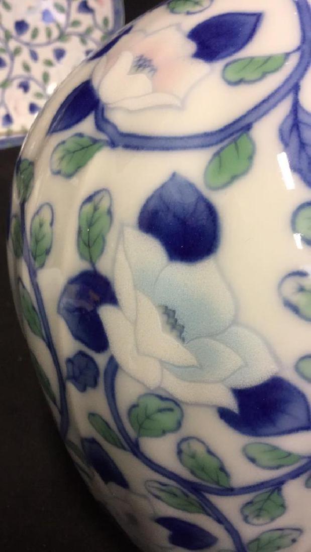 Lot 2 Andrea by Sadek Vase And Platter - 6