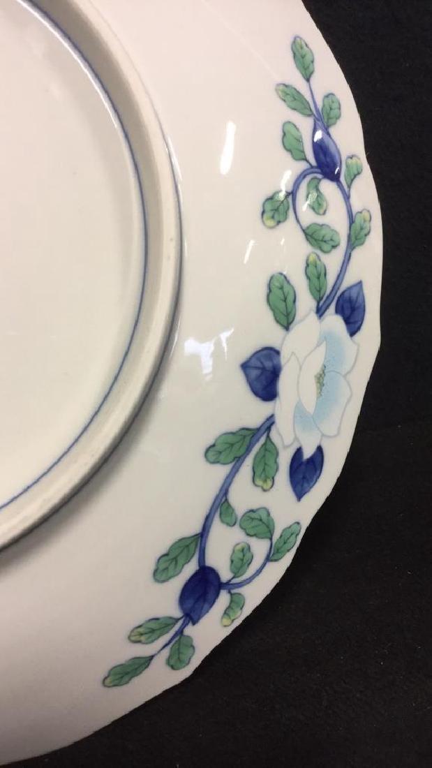 Lot 2 Andrea by Sadek Vase And Platter - 9