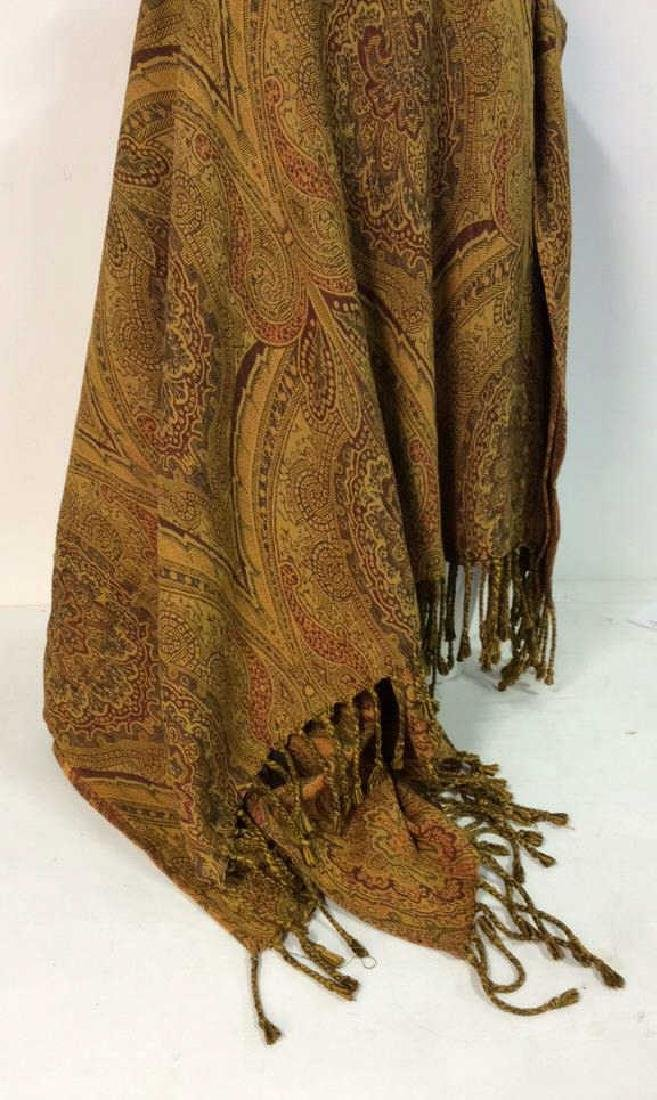 MALABAR GROVE LTD Paisley Throw Blanket