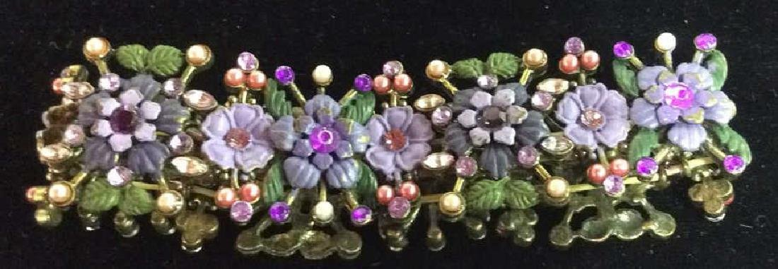 Lot 3 Assorted Beaded Floral Women's Jewelry - 5