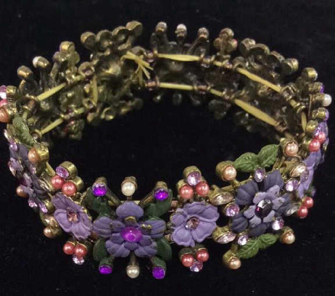 Lot 3 Assorted Beaded Floral Women's Jewelry - 6