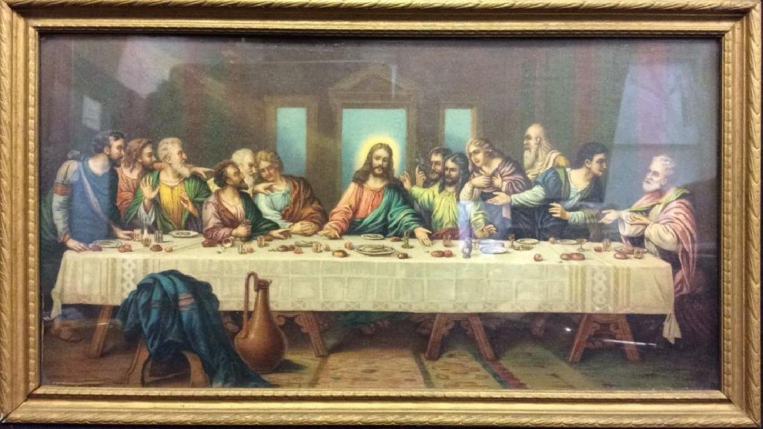 The Last Supper Framed Print - 2