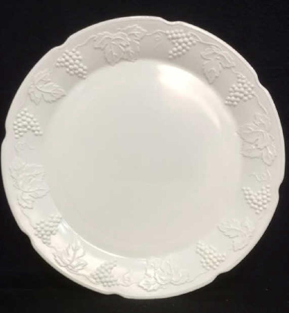 Milk Glass Resembling Serving Platter