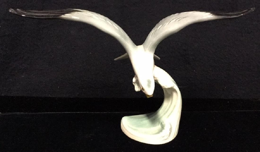 W Goebel Silver Gull Ceramic Porcelain Figurine - 7