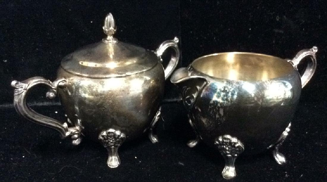Lot 3 F.B.ROGERS SILVER CO. Silver Coffee Tea - 5