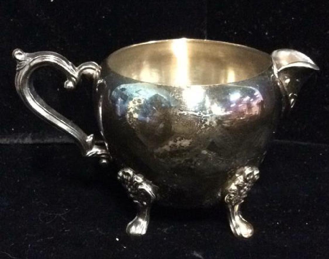Lot 3 F.B.ROGERS SILVER CO. Silver Coffee Tea - 6