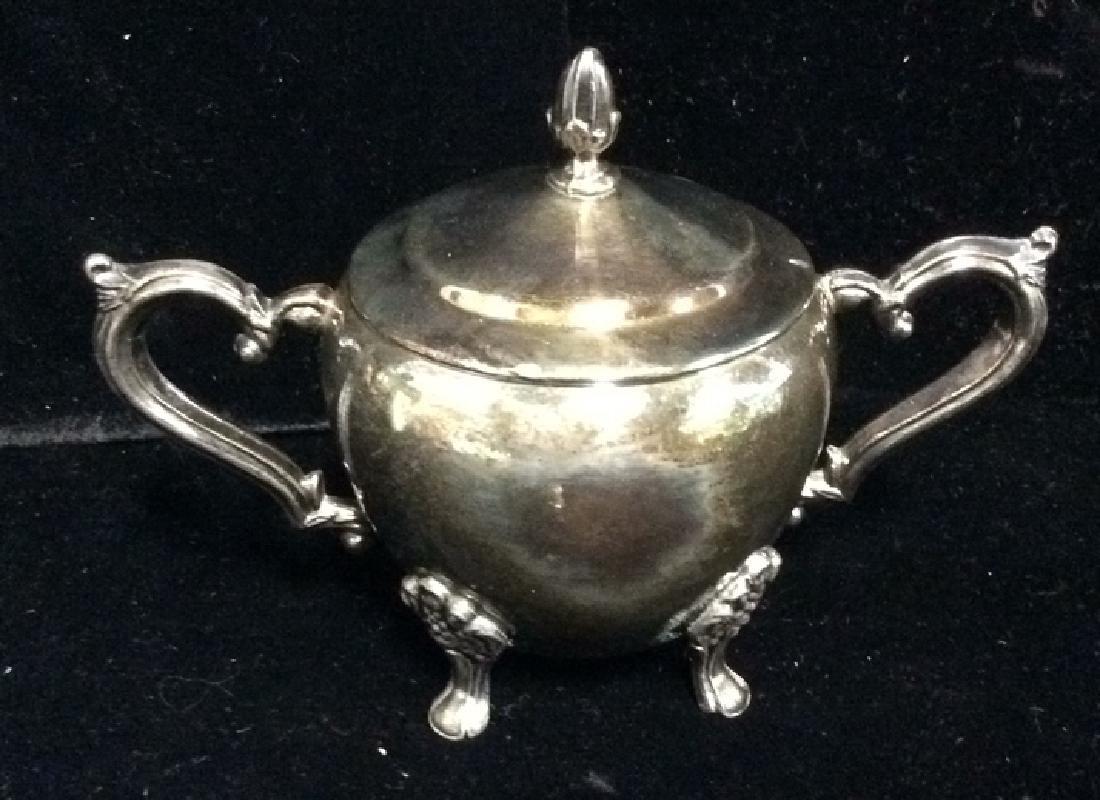 Lot 3 F.B.ROGERS SILVER CO. Silver Coffee Tea - 8