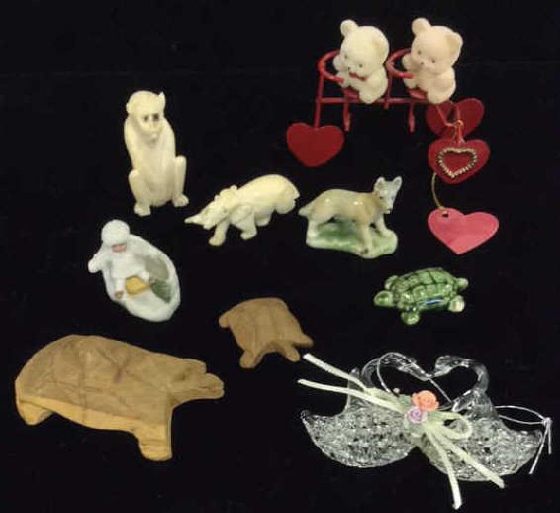 Lot 10 Animal Figural Statuettes