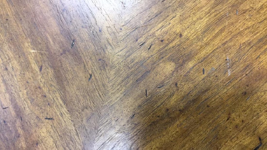 Rustic Circular Form Wood Coffee Table - 2