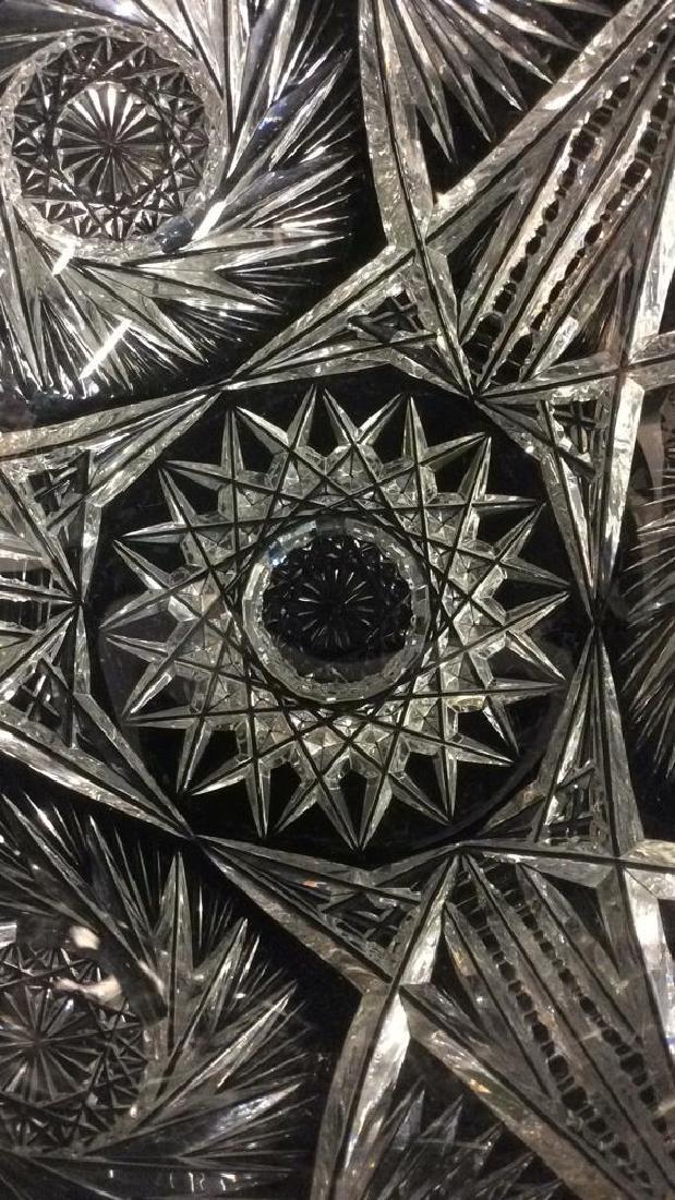 Intricately Cut Crystal Bowl - 3
