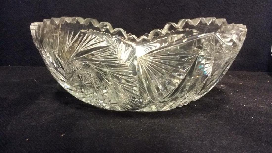Intricately Cut Crystal Bowl - 6