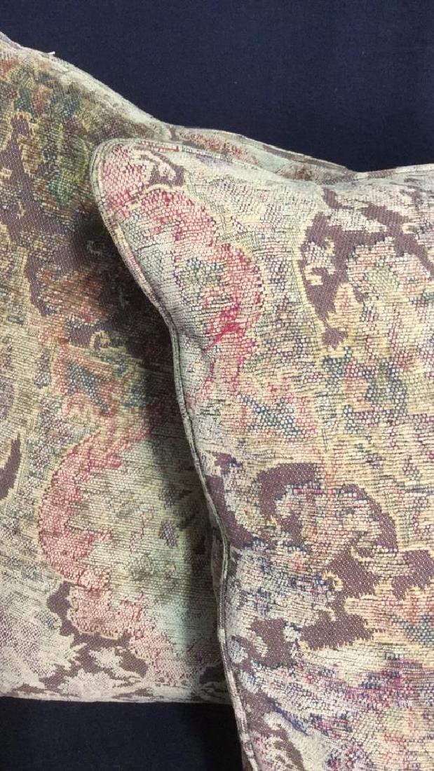 Pair Of Down Throw Pillows - 3
