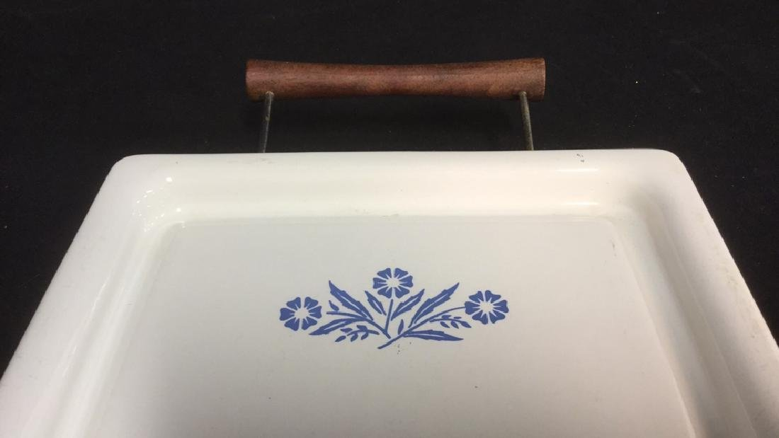 Corning Ware Broil Bake Tray And Stand - 3