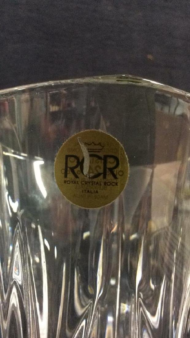 ROYAL CRYSTAL ROCK Italian Vase - 6