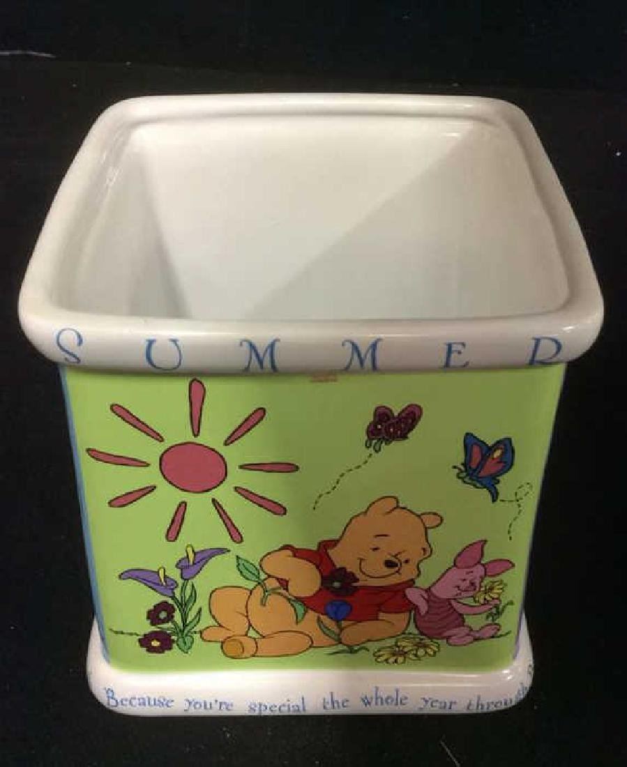 FTD DISNEY WELCOMES Winnie The Pooh Planter - 6