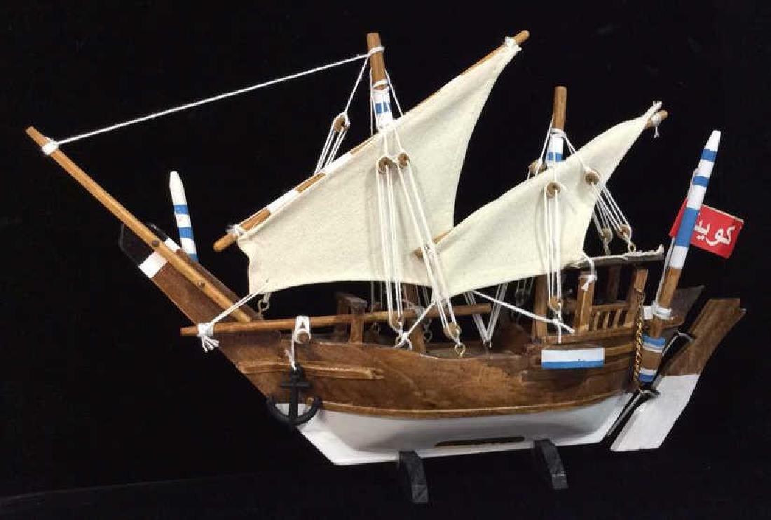 Baghlah Arab Sailing Vessel Model