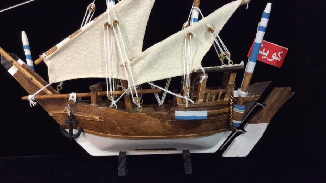 Baghlah Arab Sailing Vessel Model - 2