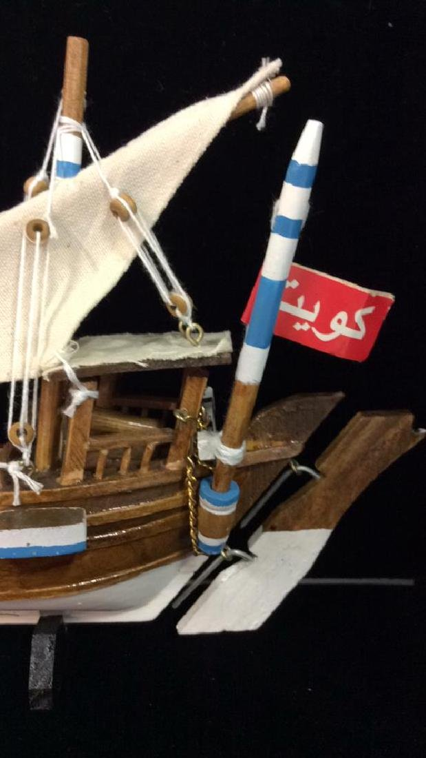 Baghlah Arab Sailing Vessel Model - 3