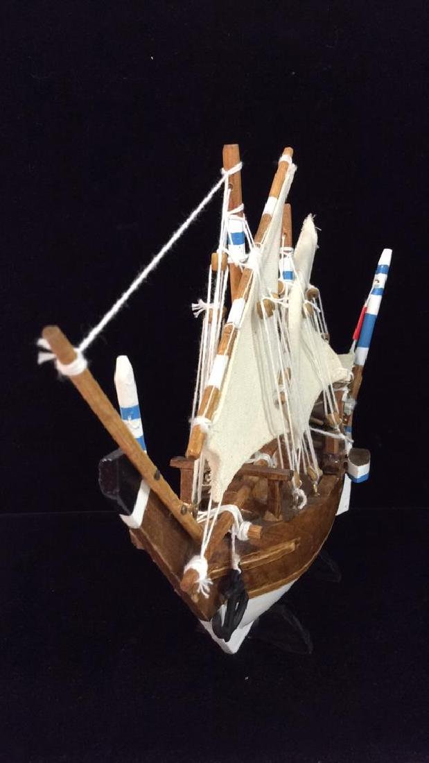 Baghlah Arab Sailing Vessel Model - 4