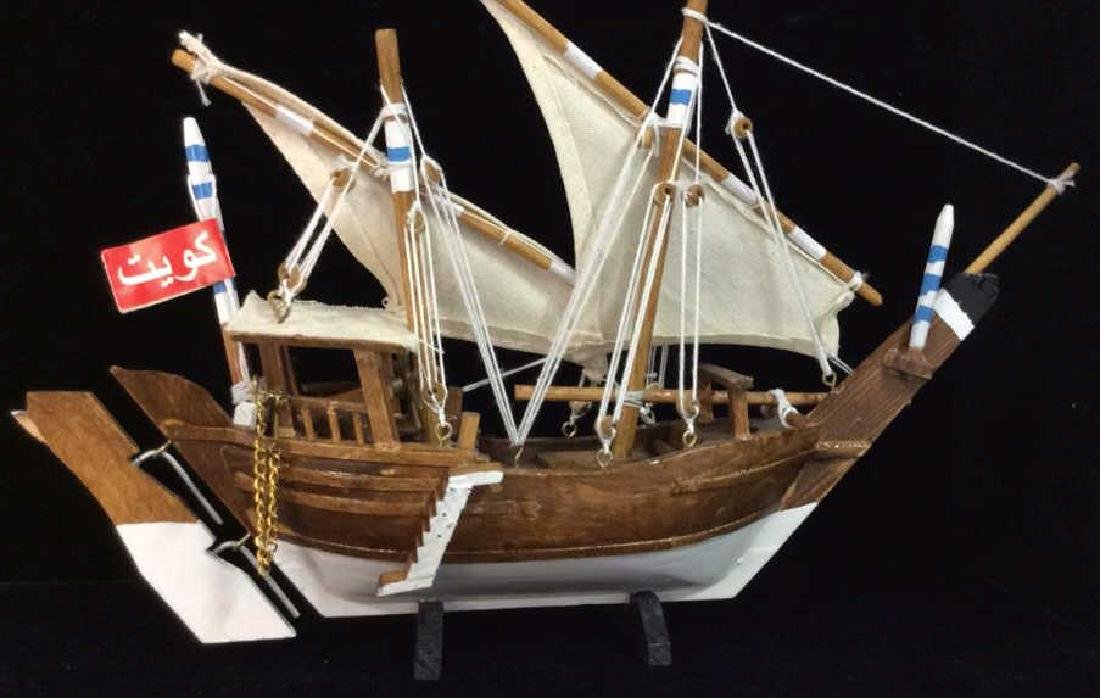 Baghlah Arab Sailing Vessel Model - 5