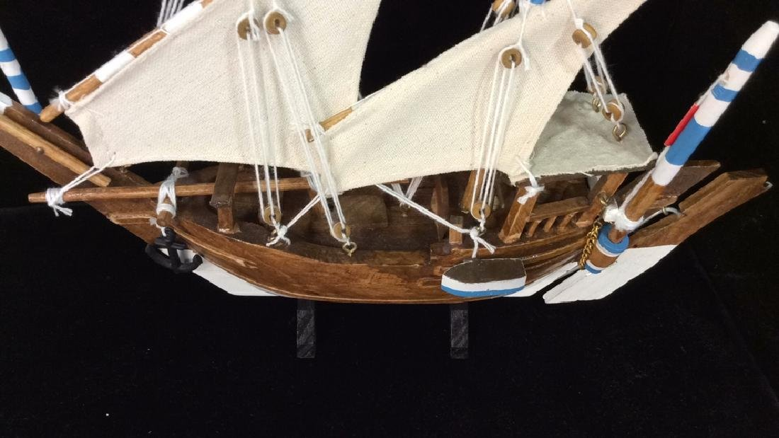 Baghlah Arab Sailing Vessel Model - 7