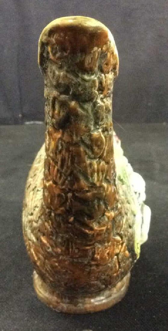 Hand Painted Italian Ceramic Wine Jug - 6