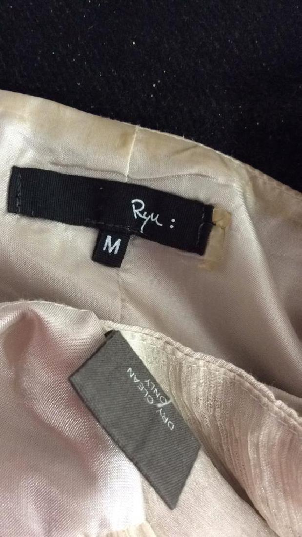 RYU Vintage Beige Beaded Vest - 9