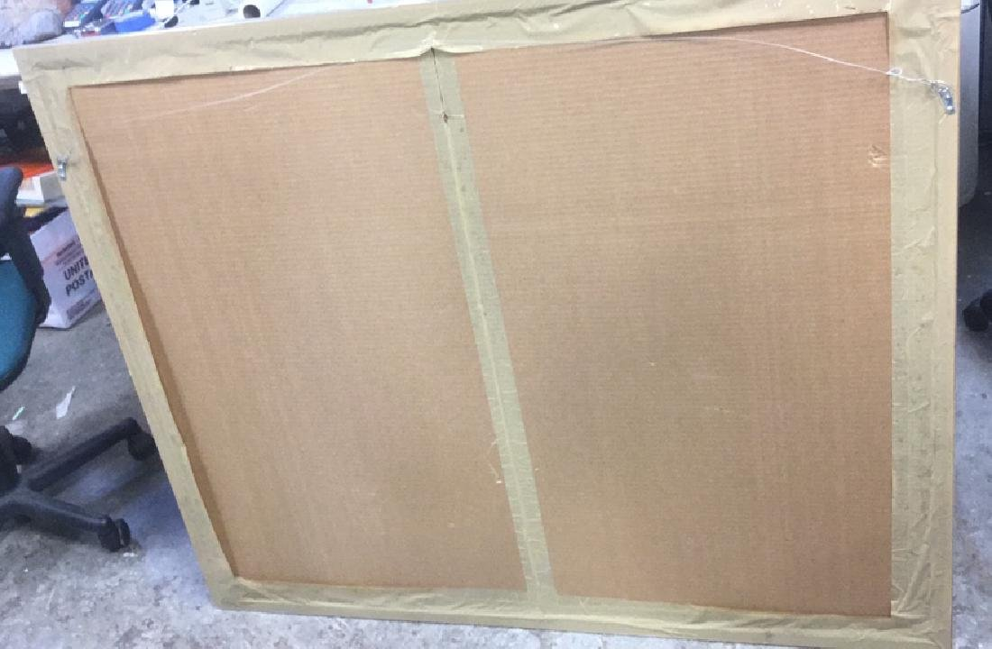 Abstract Signed Litho Refracting Dolphins - 9