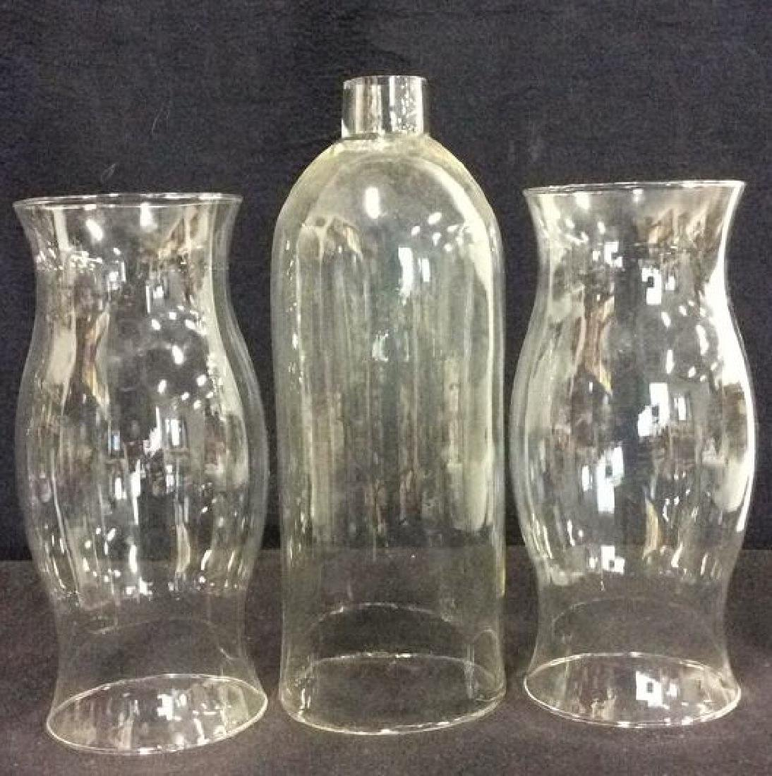 Lot 3 Hurricane Glasses tabletop