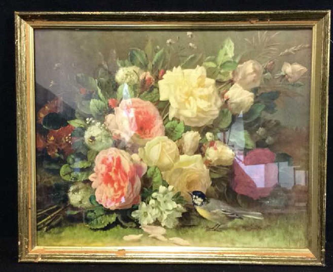 2Professionally Framed Botanical Print