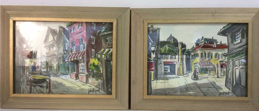 Lot 2 JOHN R GOOD Framed Prints