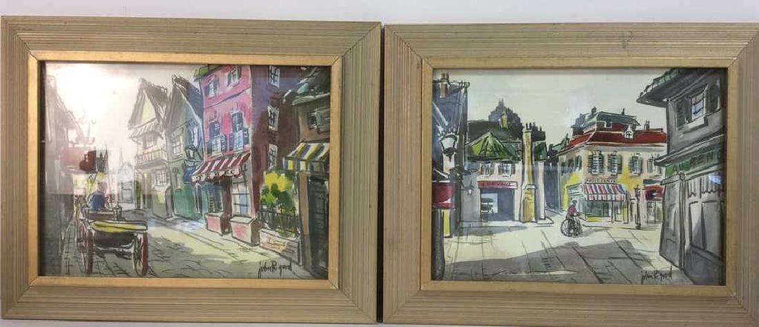 Lot 2 JOHN R GOOD Framed Prints