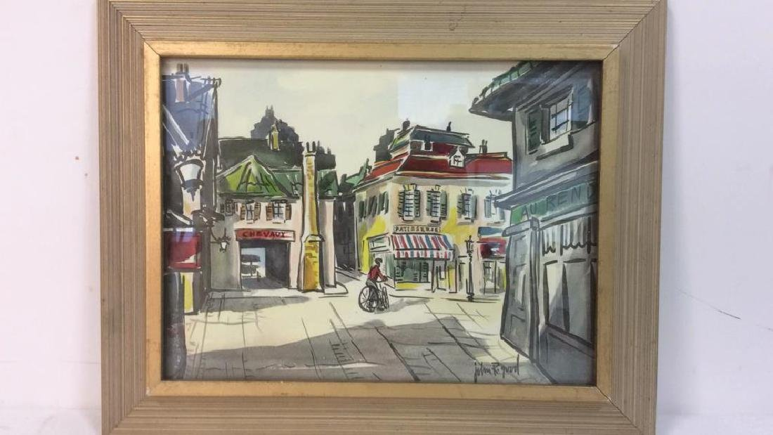 Lot 2 JOHN R GOOD Framed Prints - 2