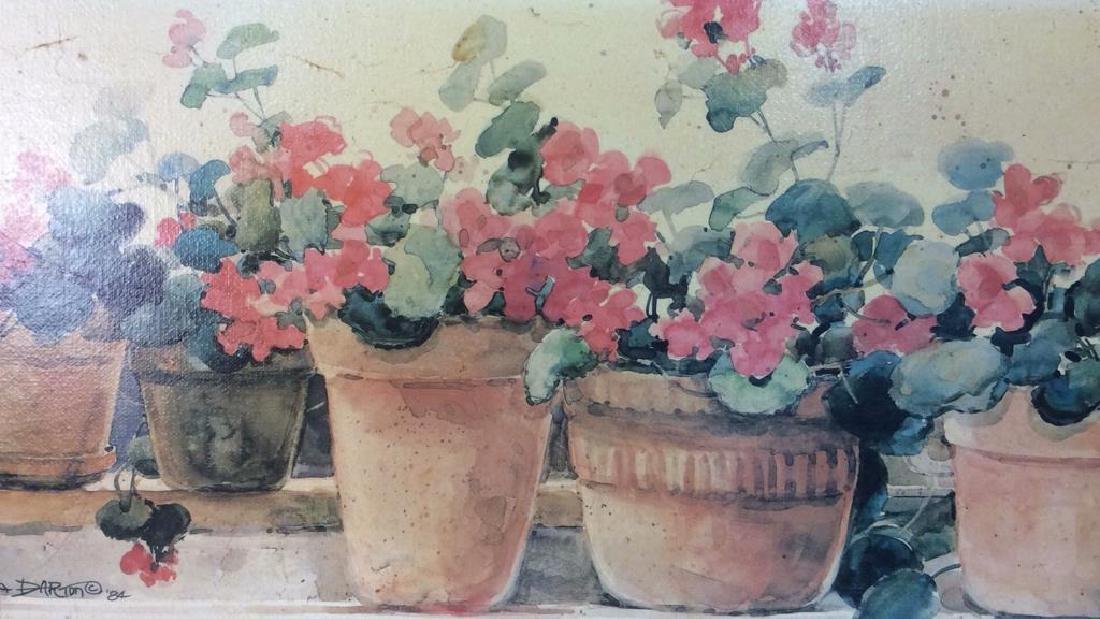 Framed DAWNA DARTON Print On Canvas - 4