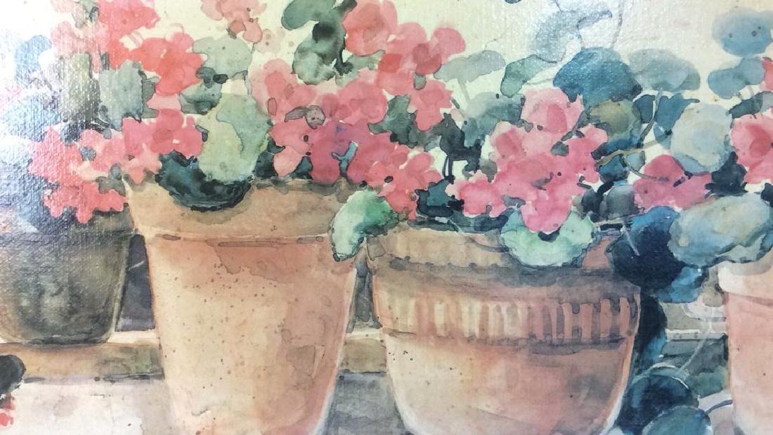 Framed DAWNA DARTON Print On Canvas - 5