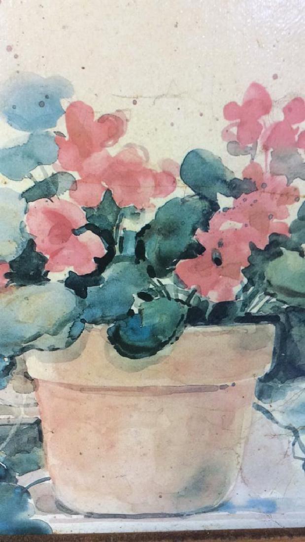 Framed DAWNA DARTON Print On Canvas - 6