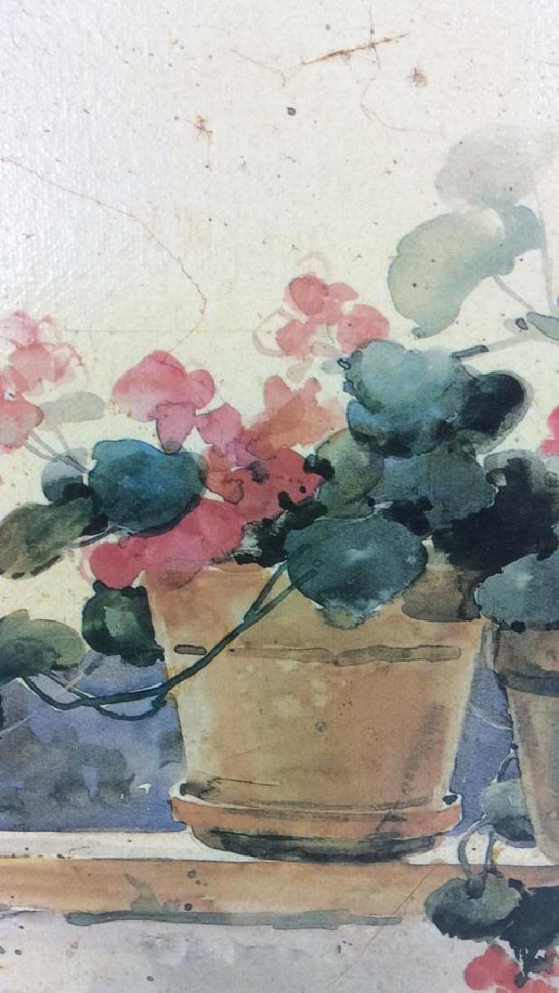 Framed DAWNA DARTON Print On Canvas - 7