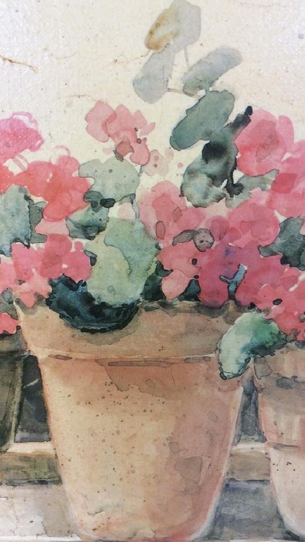 Framed DAWNA DARTON Print On Canvas - 9