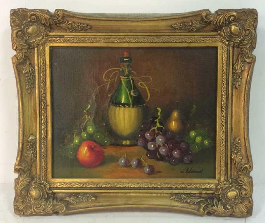 W. EDWARD Still Life Reproduction On Canvas