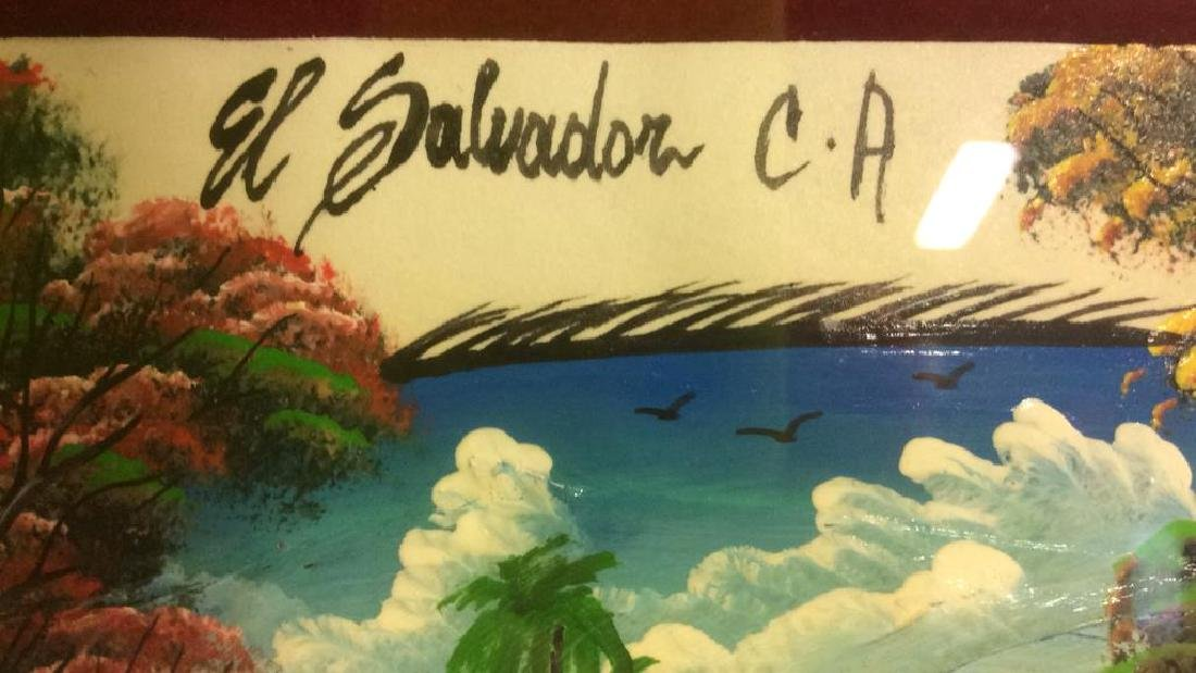 El SALVADOR C.A Mixed Media Artwork - 9