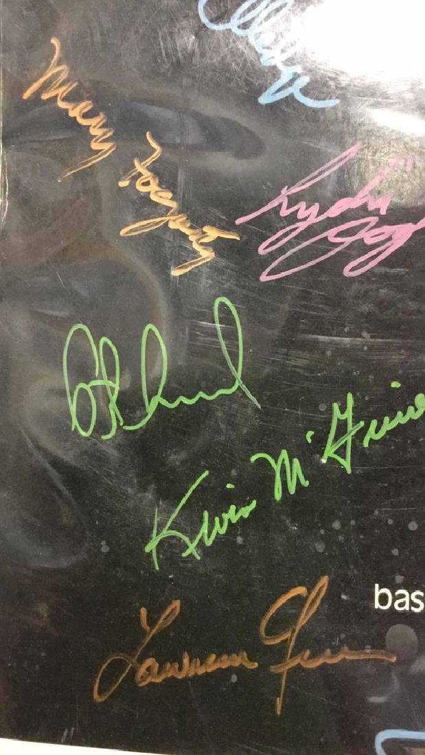 Secret Garden Theater Poster Signed By Cast - 4