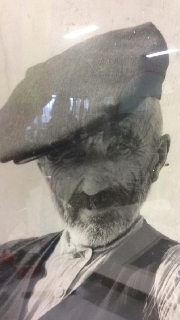 Black & White Framed Portrait Artwork