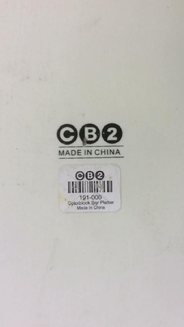 CB2 Multi Toned Serving Platter - 5
