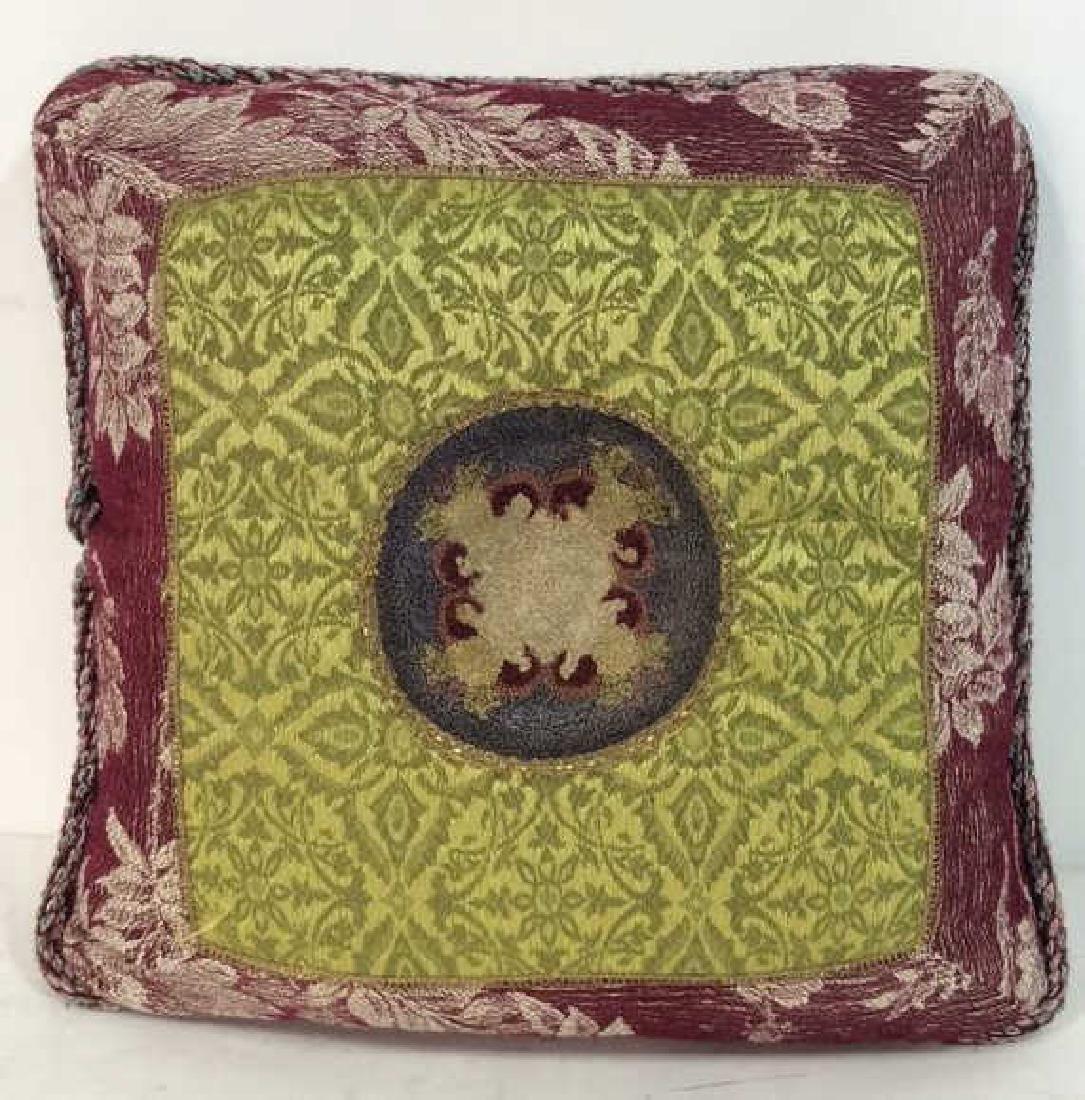 MANDERLEY Needlepoint Throw Pillow