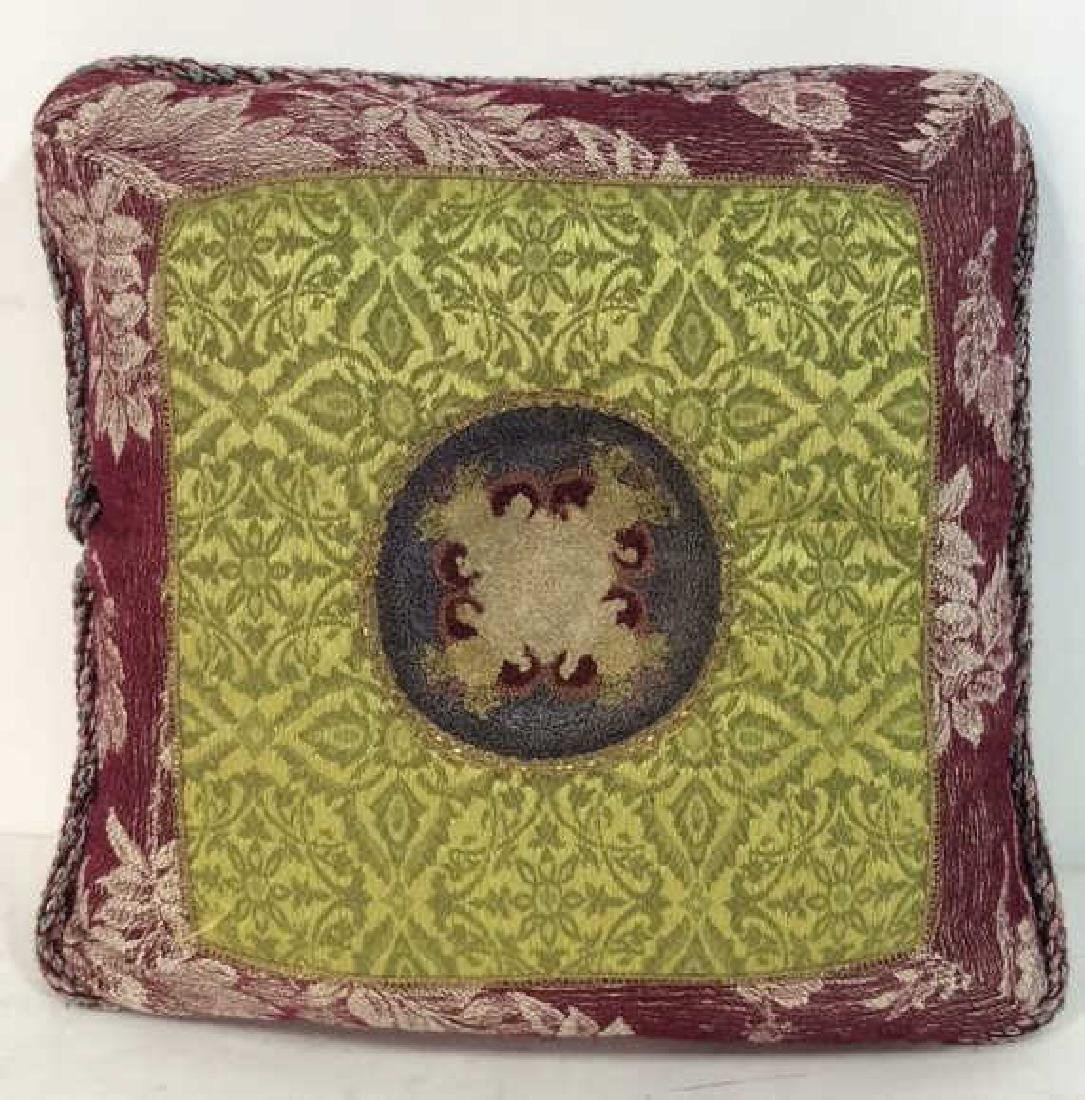 MANDERLEY Needlepoint Throw Pillow