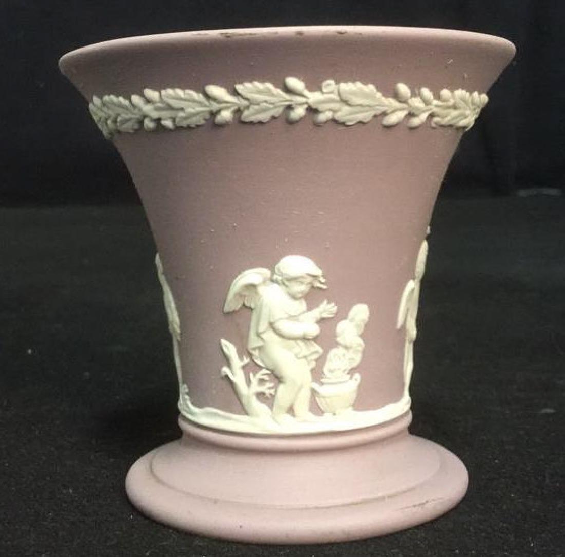 Wedgwood Jasperware Flower Vase