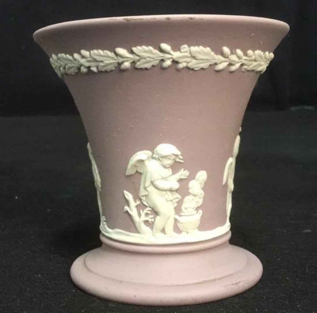 Wedgwood Jasperware Flower Vase