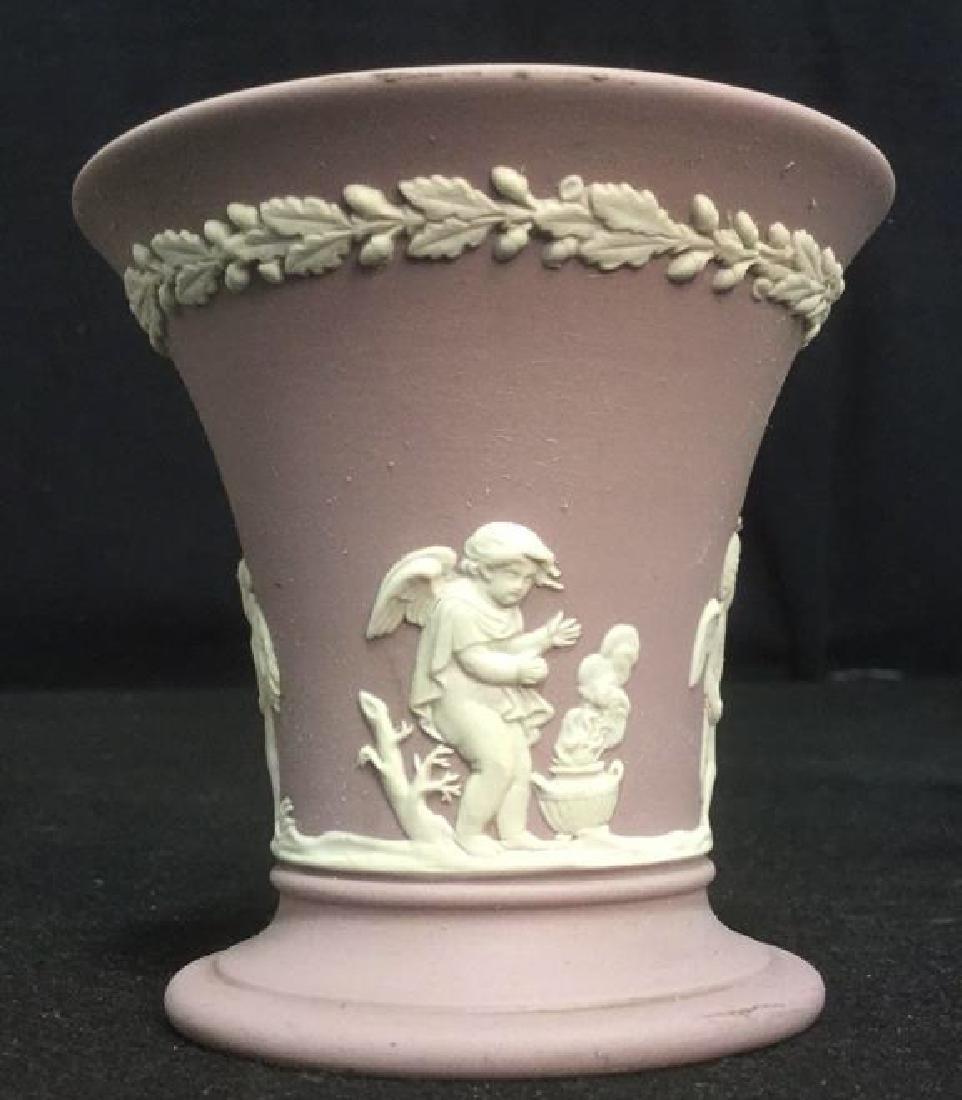 Wedgwood Jasperware Flower Vase - 2